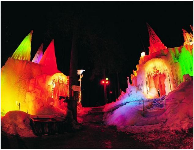 Palais de glace au Lac Noir - loisir.ch