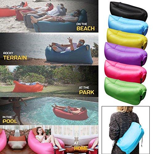Bestdeal rapide gonflable portable hangout air sac canap - Matelas gonflable a l air ...